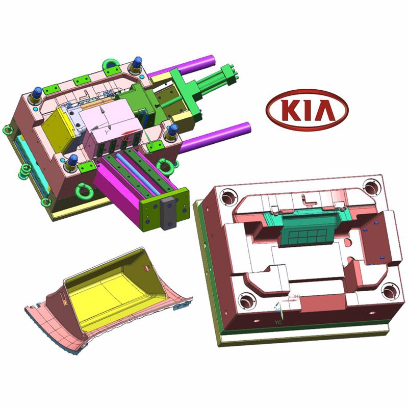 KIA YM063 Glove Box